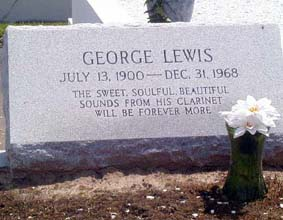 george lewis tomb